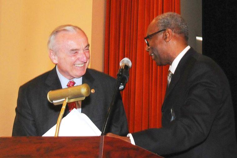 Bratton the keynote speaker in Jamaica 1