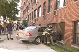 Minor injuries in building hit 1