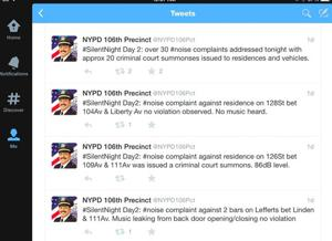 106th Precinct turns down the volume dial 2