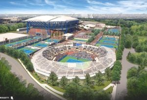 Domes announced for tennis stadiums 1