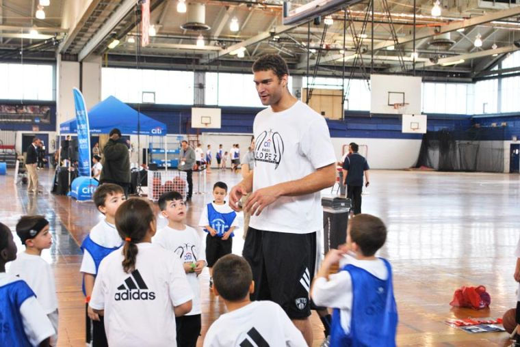 Brook Lopez hosts youth hoops camp 1
