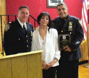 Cop nabs career criminal, is honored 1