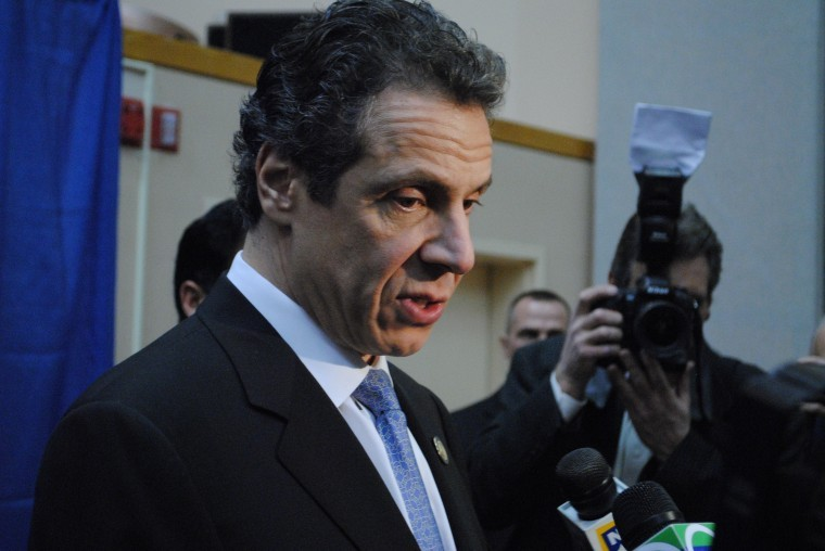 Returning to roots, Cuomo pushes reform in Queens