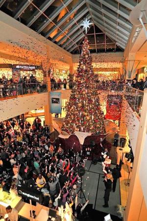Welcoming the holidays at Queens Center