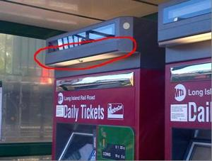 LIRR warns of minicam bank card scam at ticket machines