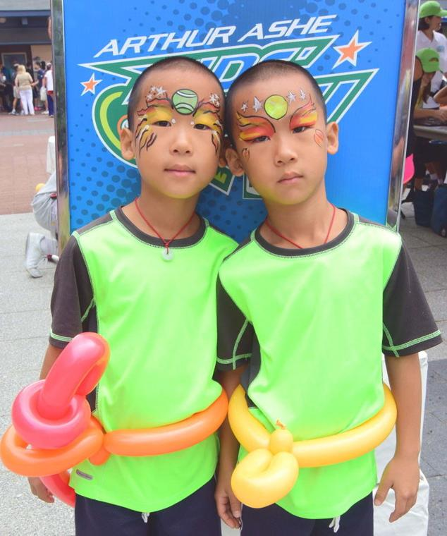 Arthur Ashe Kids' Day enchants younger set