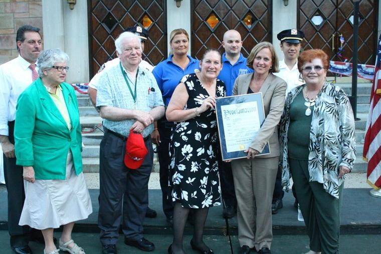 Forest Hills celebrates Night Out — 112th Precinct