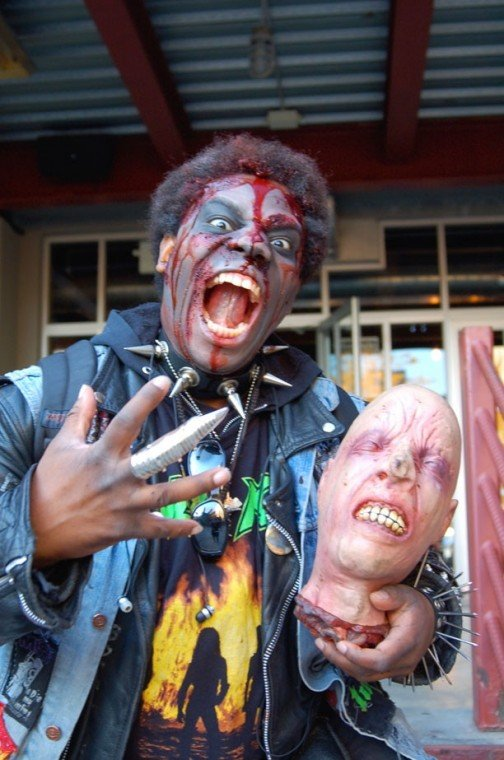 Zombies flood Astoria for annual Queens Thanksgiving Zombie Walk