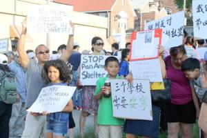 Racially charged protests get testy 2