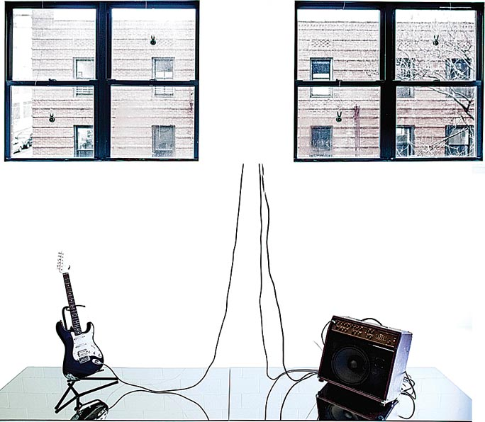 Artist Richard Garet's performance and exhibit experiment with sound 2