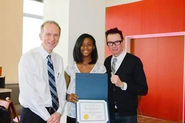 Rockaway teen's words win her a scholarship 1