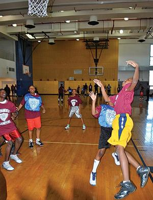 Byrne Center hosts city's PAL champions 1