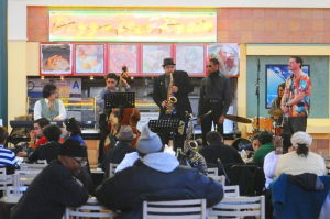 Kunal Singh Jazz Experience Emsemble performs concert at Jamaica Market