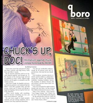"<p>The creative inspiration behind Bugs Bunny and other iconic cartoon characters is being honored in Queens as the Museum of the Moving Image hosts ""What's up, Doc?"" The Animation of Chuck Jones"" through Jan. 19.</p>"
