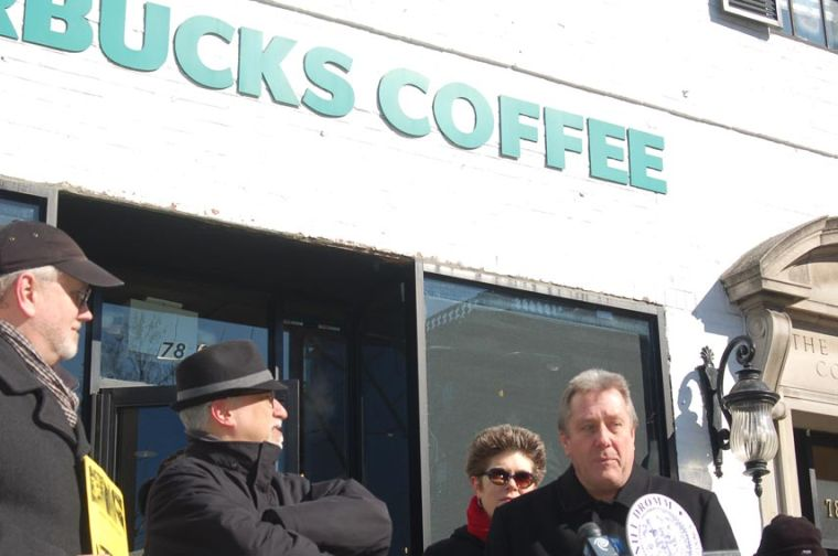 Starbucks leaves a caffeinated mess 1