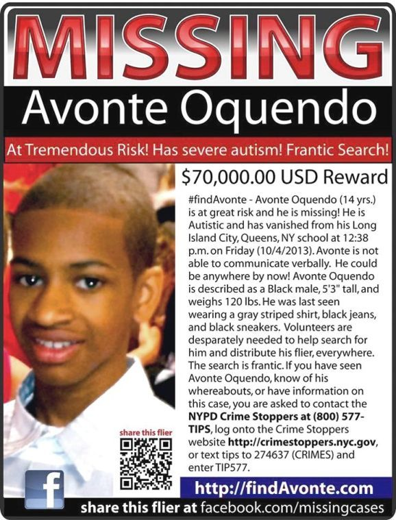Vigil held for Avonte Oquendo as search goes on; reward now $70K 4
