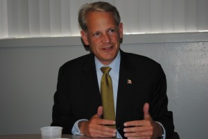 For U.S. Rep. Steve Israel, new district means exploring his roots
