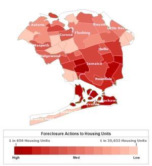 Foreclosures still hammer Queens 2
