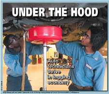 Auto technicians flourish in Queens