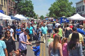 What a day for a street fair in Maspeth! 9