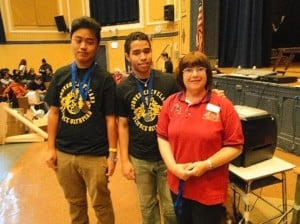 Science stars shine at G. Cleveland HS