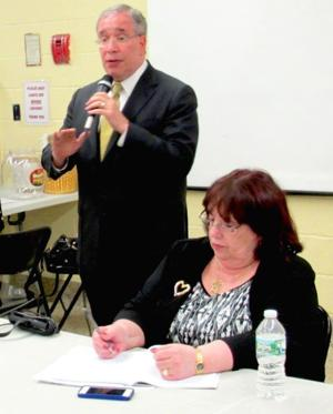 Stringer hears from flood, Sandy victims 1