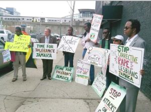 Dromm protests anti-LGBT Jamaican singer 1