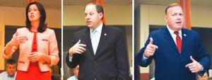 Candidates address Glendale civic group 1