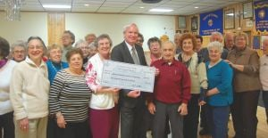 College Pt. seniors cheer state funds 1