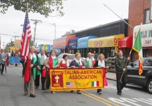 Italian pride show in Columbus Day parade 4
