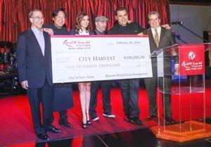 Casino raises for City Harvest 1
