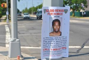 Reward in shooting death 1