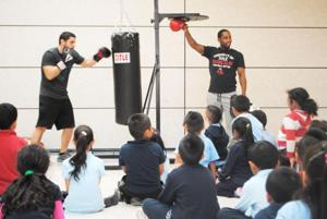 Teaching kids to fight for a healthy lifestyle 1