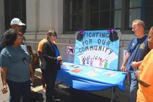 Probation Dept. hosts domestic violence fair 1