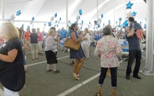 Cancer survivors gather to celebrate 1