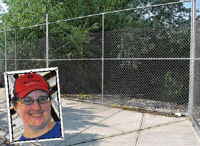 Cliff finally fenced in 1