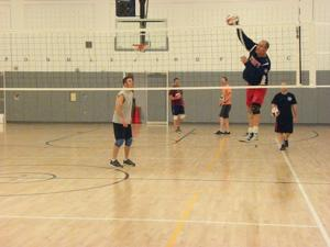 FDNY volleyball team sets for N. Ireland 1