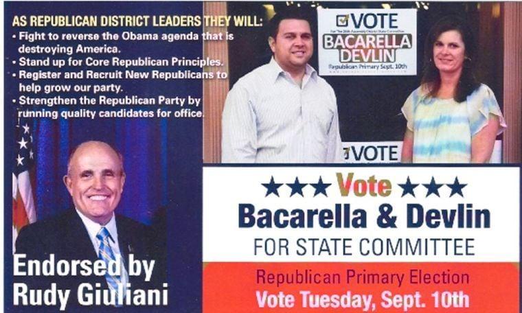 Rudy Giuliani endorses Ragusa challenger in Queens GOP battle