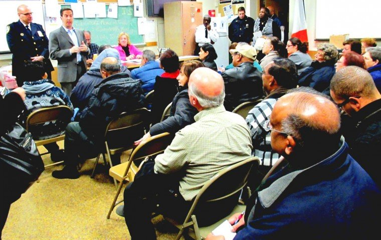 Rash of burglaries tops talk at 106th meeting 1