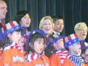 Gillibrand joins Liu to celebrate Asian heritage