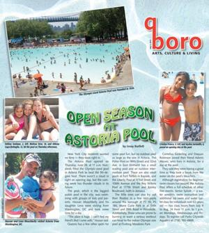 Open season at Astoria Pool 1