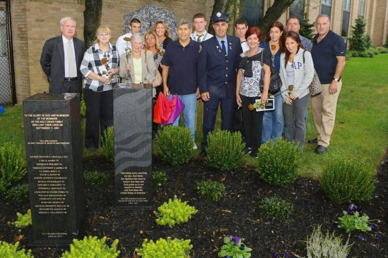 Holy Cross High School unveils 9/11 memorial 2