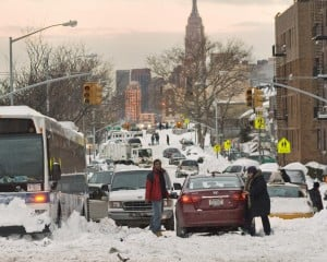 Snowbound A train riders sue the MTA 1