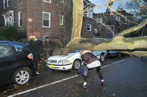 Western Queens feels wrath of Hurricane Sandy