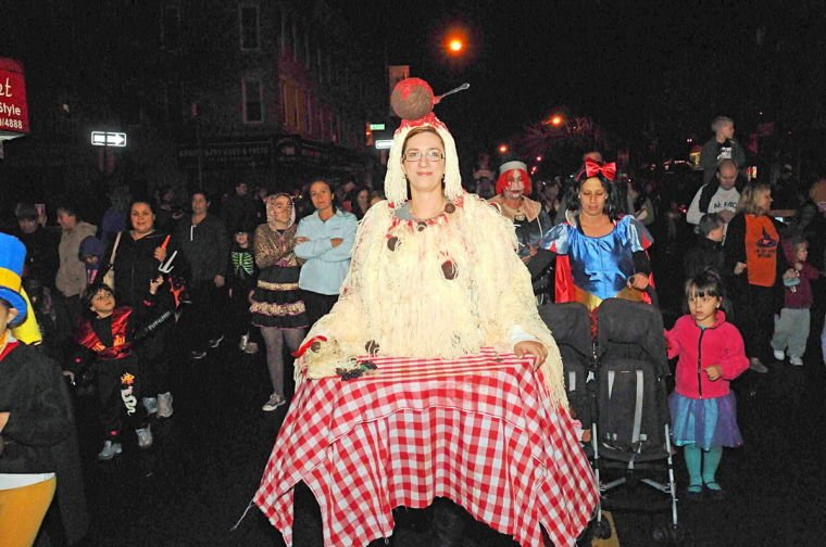 Thrills and chills at the Halloween Parade
