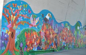 Fairy-tale mural adds to Astoria 1