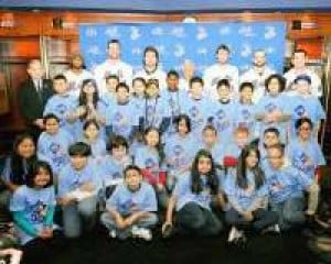 Sunnyside kids score visit with the Mets