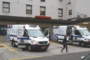 Idling ambulances cause headaches 1
