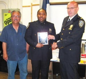 Officer who arrested drunk driver honored