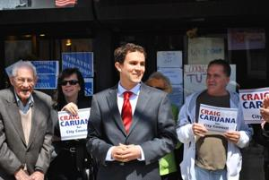 Caruana kicks off 'grassroots' campaign 1